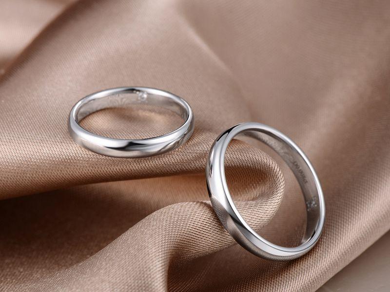 Обручальный кольца из палладия